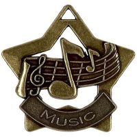 Mini Star Music Medal</br>AM710B